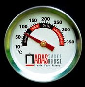 Abas thermometer for smokehouses