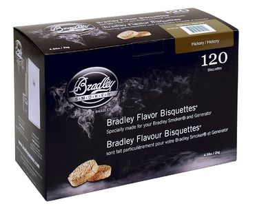 Bradley Smoker Bisquettes 120 Pack - Hickory