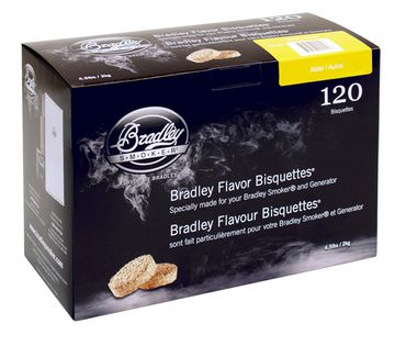 Bradley bisquettes, 480pcs Apple wood