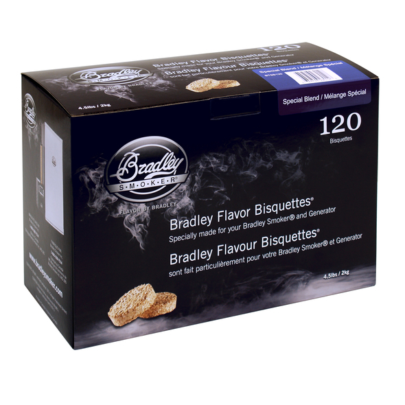 Bradley Smoker Bisquettes 120 Pack - Special Blend