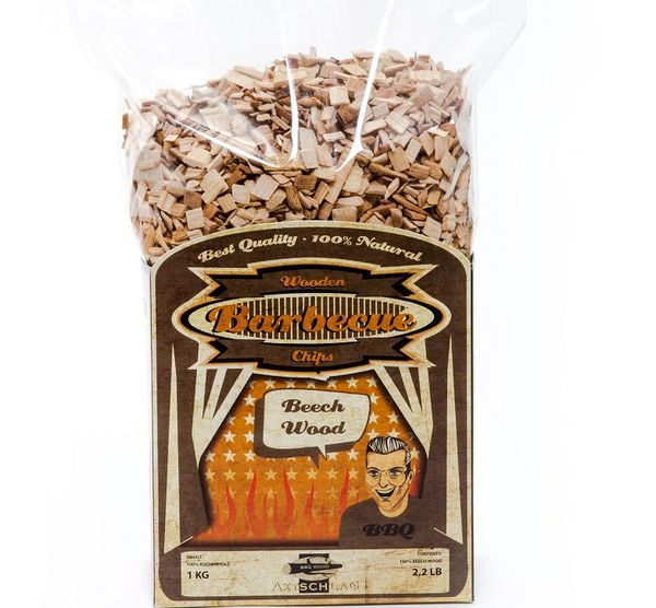 BBQ wood chips Beech -  7-10 mm 1 kg